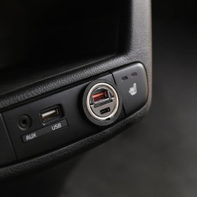 초미니 듀얼 시거잭 차량용 고속 충전기(PD PPS 30W)