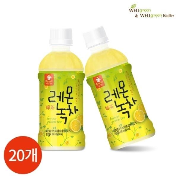 웰그린 레몬녹차 340ml x 20PET 상품이미지