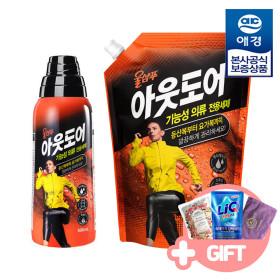 [Aekyung] Wool shampoo / Outdoor / 800 ml + refill 1000 ml / laundry liquid /