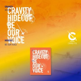 (VER.1) 크래비티 CRAVITY SEASON 3 HIDEOUT : BE OUR VOICE