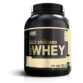 Optimum 골드 스탠다드 100% 웨이 프로틴 단백질 헬스 보충제 바닐라 68서빙 2.18 kg 빠른직구