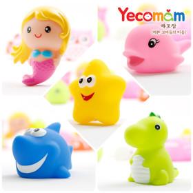 LED 아기목욕장난감 물놀이 목욕놀이 5종세트