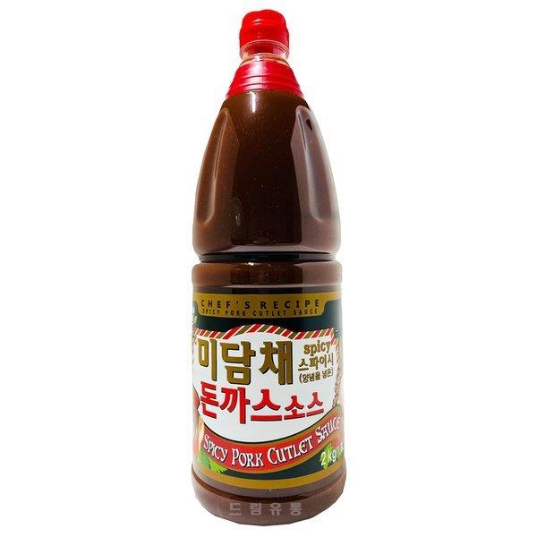 미담채) 매콤한 돈까스소스 2kg 상품이미지