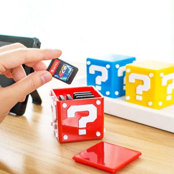 동물의 숲 닌텐도스위치 게임카드 큐브 보관함 파우치 상품이미지