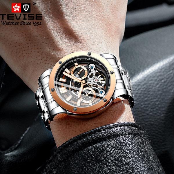 제이피엠 남자시계 메탈밴드 오토매틱 손목시계 17P 상품이미지