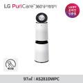 LG 퓨리케어 360 펫 공기청정기 플러스 AS281DWPC 2단