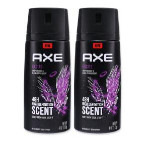엑스 AXE 익사이트 남성 데오드란트 x2개