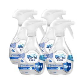 페브리즈 항균플러스 깨끗한향 370ml 3개 +화장실용1입