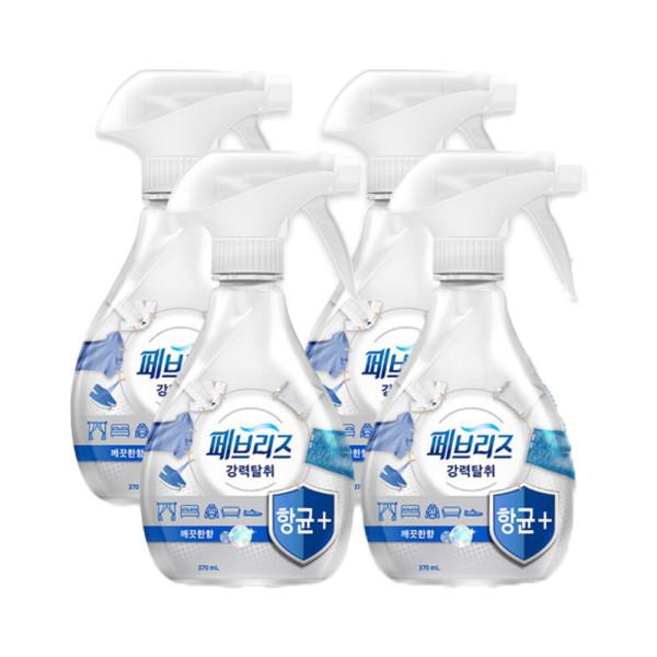 페브리즈 항균플러스 깨끗한향 370ml 4개 상품이미지