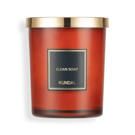 PERFUME NATURAL SOY CANDLE 500g CLEAN SOAP