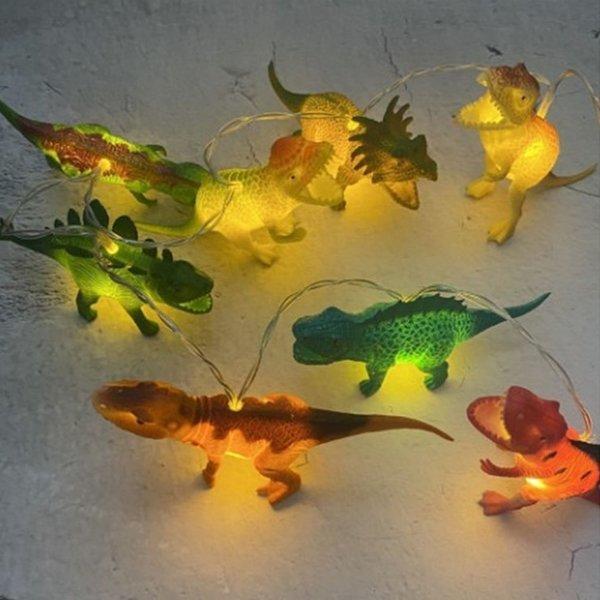 공룡 LED 가랜드 감성캠핑 알전구 줄조명 20구 상품이미지