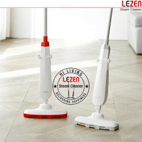 LZC-T1010-(그레이) 핸디 스틱형 나노 스팀 청소기