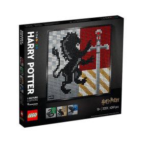레고공식_LEGO Art 레고아트 호그와트 문장_31201
