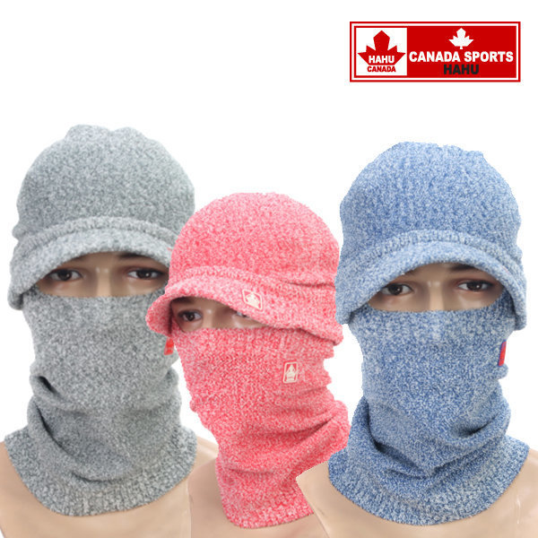 스마트세트(밴드+모자) 모자 방한마스크 하후캐나다 상품이미지