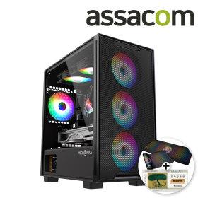 인텔 게이밍 ASIX04_10400F RX6700XT NVMe 조립PC