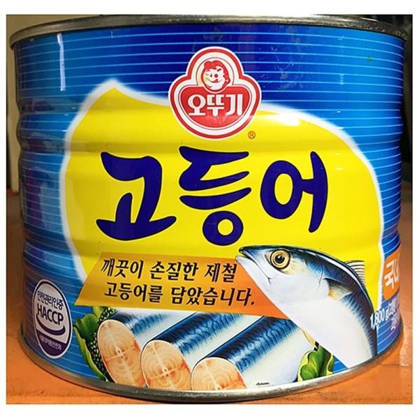 오뚜기 고등어캔(1.800g)X6 생선통조림 생선캔 생선캔 상품이미지