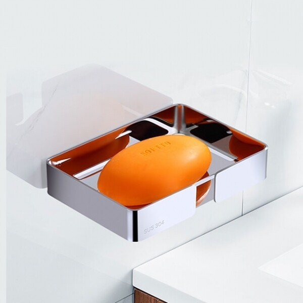 신개념 접착식 스텐 비누홀더 GJ-H123 상품이미지