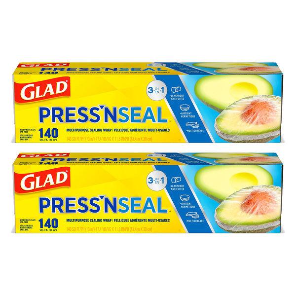 매직랩 프레스앤씰 GLAD pressnseal 43.4mX30cm 2개 상품이미지