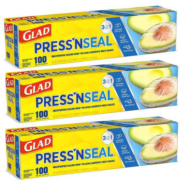 매직랩 프레스앤씰 GLAD pressnseal 31mX30cm 3개 상품이미지