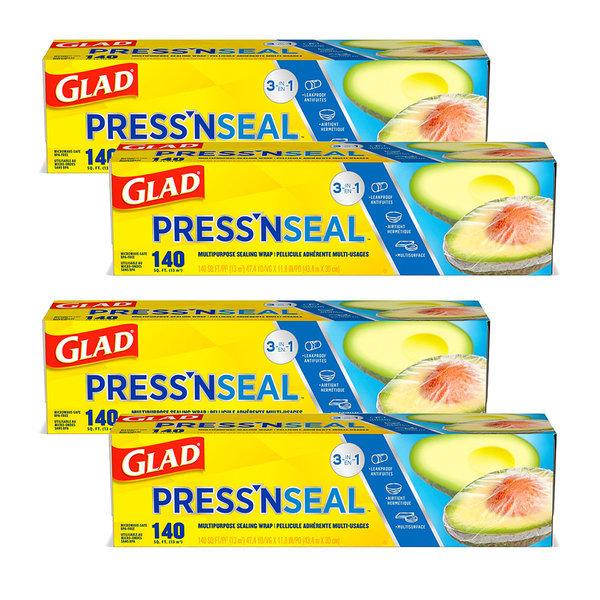 매직랩 샌드위치 랩 프레스앤씰 GLAD PressNSeal 4개 상품이미지