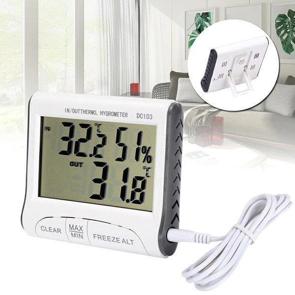 실내외겸용 디지털온습도계 온도계 습도계 외부온도 상품이미지
