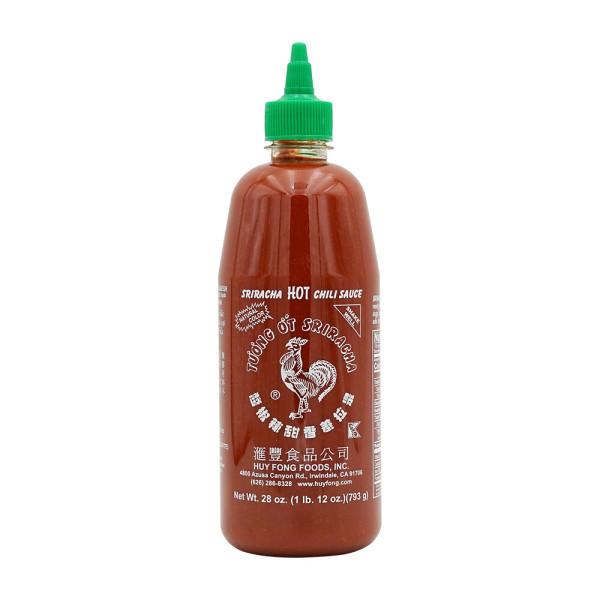 Huy Fong Foods 스리라차 핫 칠리 0칼로리 닭표 소스 793 g 상품이미지