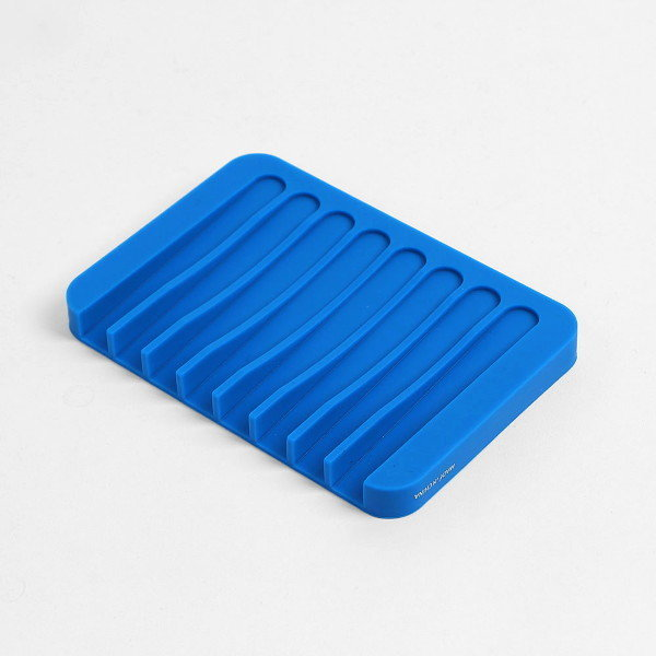 굿즈트리 컬러링 실리콘 비누 받침대(블루) 상품이미지