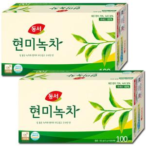[동서]국산 현미녹차200T~300T/둥굴레차/메밀차/보이차/우엉