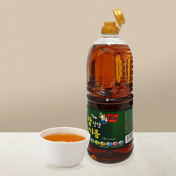 맛기름 향미유 대형 업소용 더참진한기름1.8L CJG001-6 상품이미지