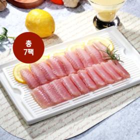 국내산  영산홍어 홍어회 4팩 100g+홍어무침 3팩 150g+초장4팩 25g