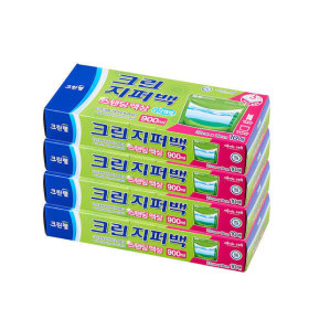 스탠딩 액상 지퍼백 (900ml) 10매 X4개