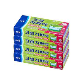 스탠딩 액상 지퍼백 (600ml) 10매 X4개