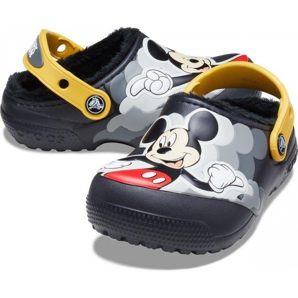 펀랩 라인드 디즈니 미키마우스 클로그 206553-001 상품이미지