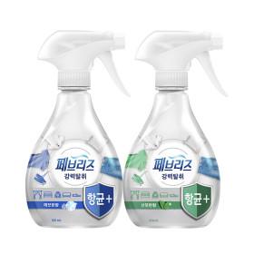 페브리즈 섬유탈취제 항균플러스 370ml 2개 깨끗산뜻p