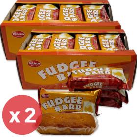 FUDGEE BARR Milk Flavor Cake Bread (42g x 12pcs) 504g x 2 packs