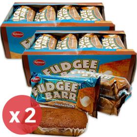 FUDGEE BARR Mocha Flavor Cake Bread (42g x 12pcs) 504g x 2 packs