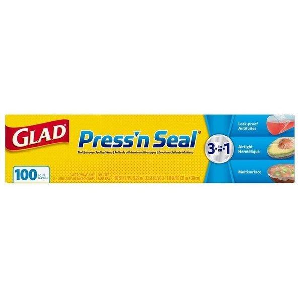 Glad 글래드 프레스 앤 씰 랩 100sq.ft 31mX30cm 9팩 상품이미지
