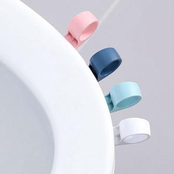 (핫트랙스) 실속형 고리 변기손잡이 1개(색상랜덤) 상품이미지