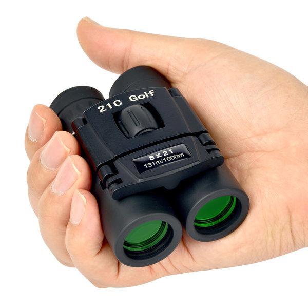 8x21 휴대용망원경 미니 접이식쌍안경 여행 캠핑 낚시 상품이미지
