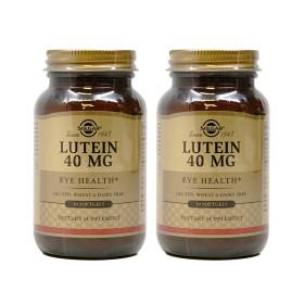 2개 Solgar 루테인 40 mg 지아잔틴 제아잔틴 30 소프트젤