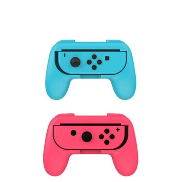 닌텐도스위치 컨트롤러 그립 커버케이스 블루+레드 상품이미지
