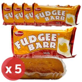 레비스코 퍼지바 밀크맛 케이크 빵 42g x 5개/오예스