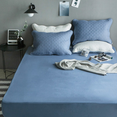 Pure cotton mattress cover/bed pad/quilted mat cover/waterproof mat