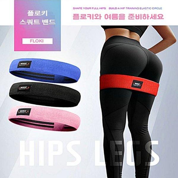 힙운동 뒷태 하체 운동 비만 해결 각선미 스쿼트 밴드 상품이미지