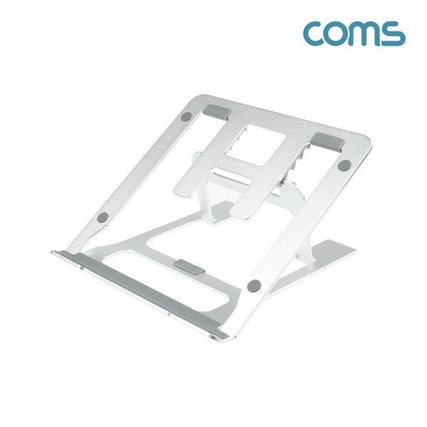 Coms 태블릿 노트북 거치대 접이식 각도조절 IF818 상품이미지