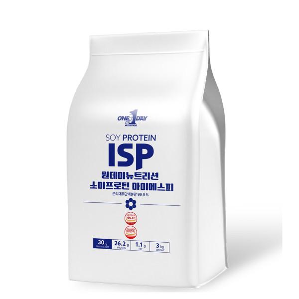 포대 식물성 소이프로틴 여자 단백질 가루  ISP  3000g 상품이미지