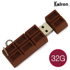 캐릭터 USB메모리 초콜렛 초코렛 초콜릿 선물 예쁜 32G