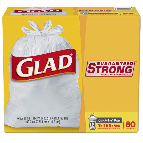 Glad 분리수거 재활용 쓰레기 봉투 49.2L 80매입 2팩 상품이미지