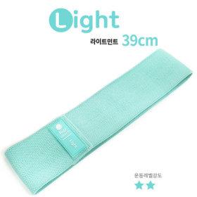 힙업밴드(39cm 라이트민트) 스쿼트 루프밴드 힙업운동