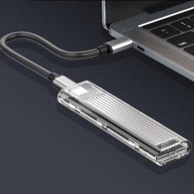 BASIX M10 Nvme M2 포터블 SSD 외장하드 케이스